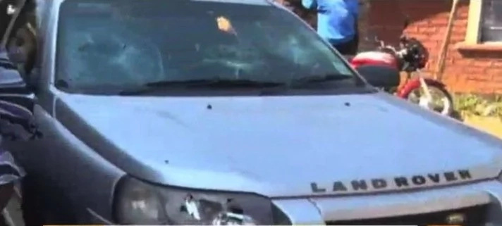VIDEO:Drama in Migori as woman destroys husband's Expensive car