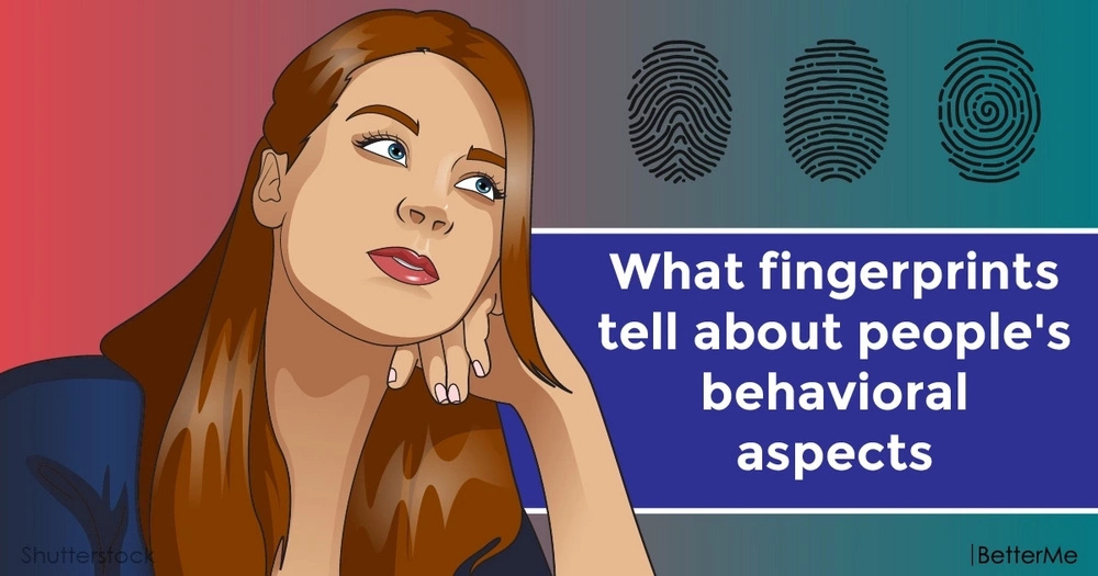 What fingerprints tell about people's behavioral aspects