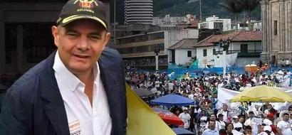 El vicepresidente de Colombia golpea a sus empleados y le arrebató el techo a la casa de una familia pobre
