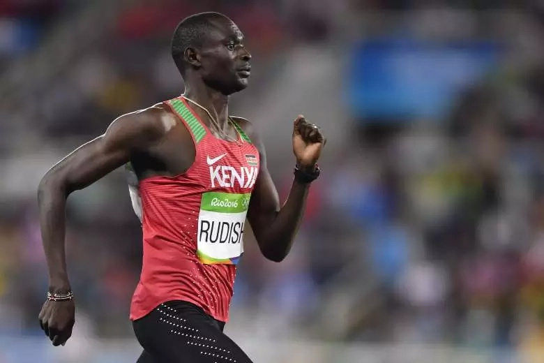 King David Rudisha retains his gold at the Rio Olympics