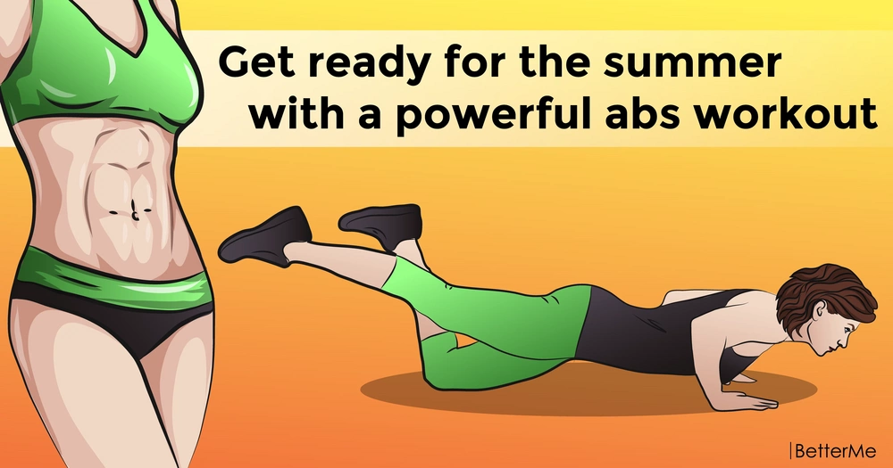 Get ready for the summer with a powerful abs workout