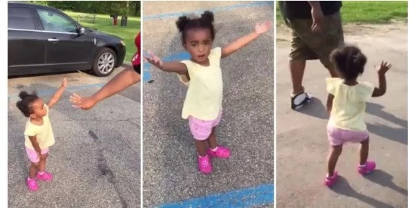 1, 2, 3, 5! Cutest argument EVER erupts between baby girl and her father (see photos, video)