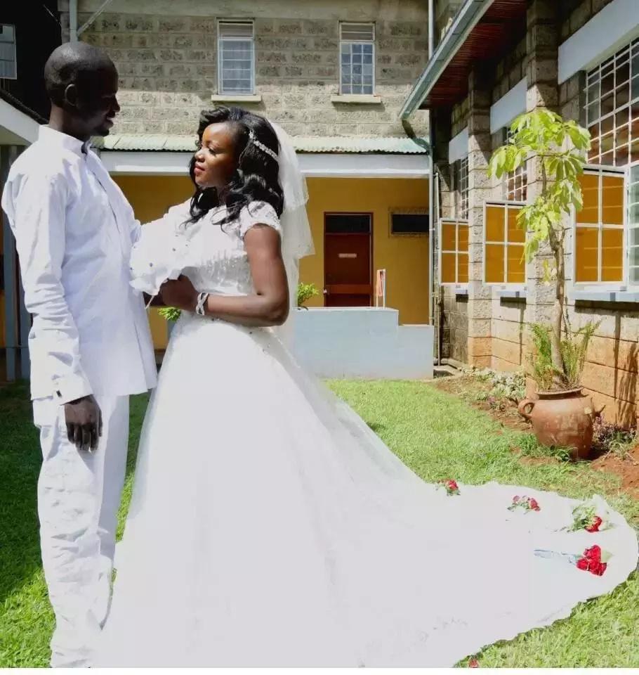 Mwimbaji Florence Andenyi awashukuru mashabiki wake baada ya kuolewa