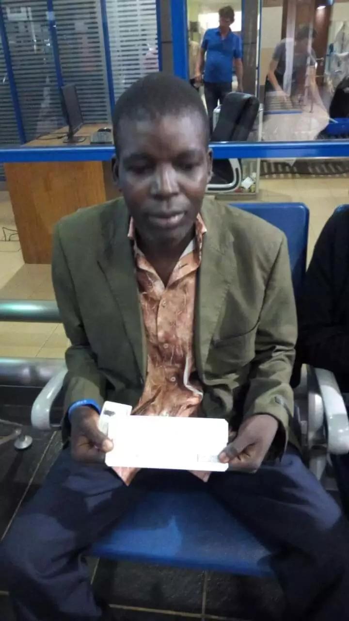 Bungoma 'James Bond' gets dream flight to Nairobi