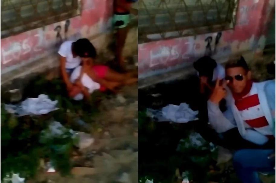 El degradante espectáculo de dos mujeres que pelean por un hombre