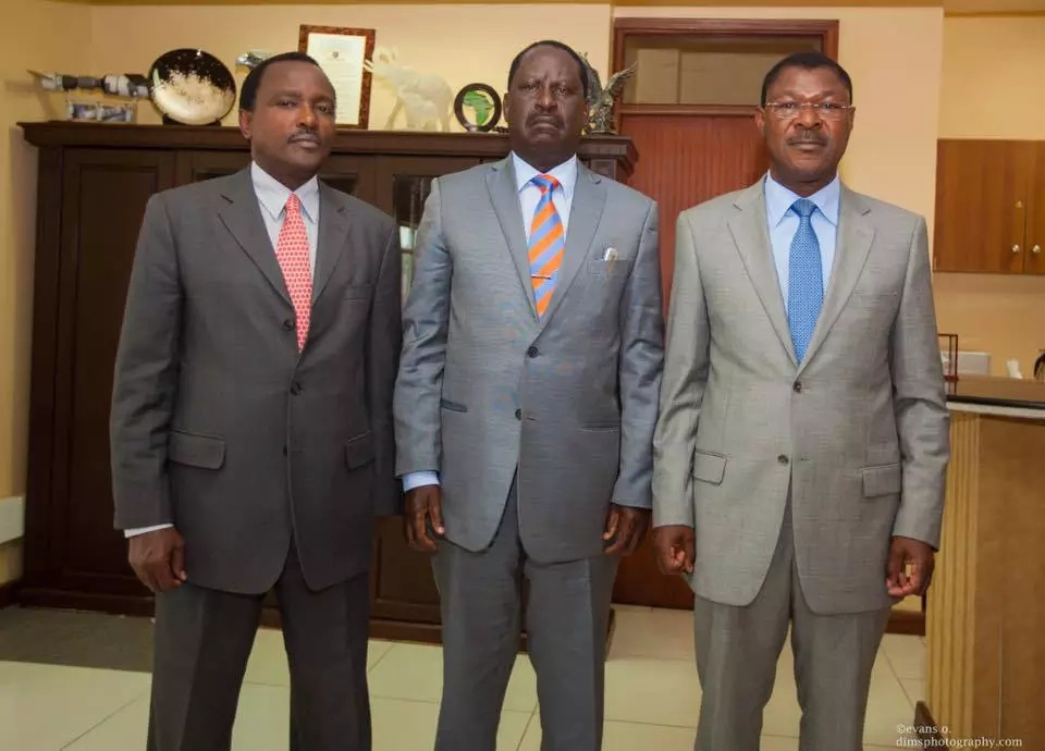Wetangula demands to be made CORD 2017 flag bearer
