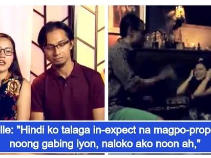 Kwelang Boyfriend, 'holdap' ang ginamit na eksena para sa marriage proposal sa kanyang nobya