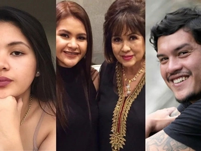 Ayaw sa pulitika? Baste Duterte and niece launch their showbiz career