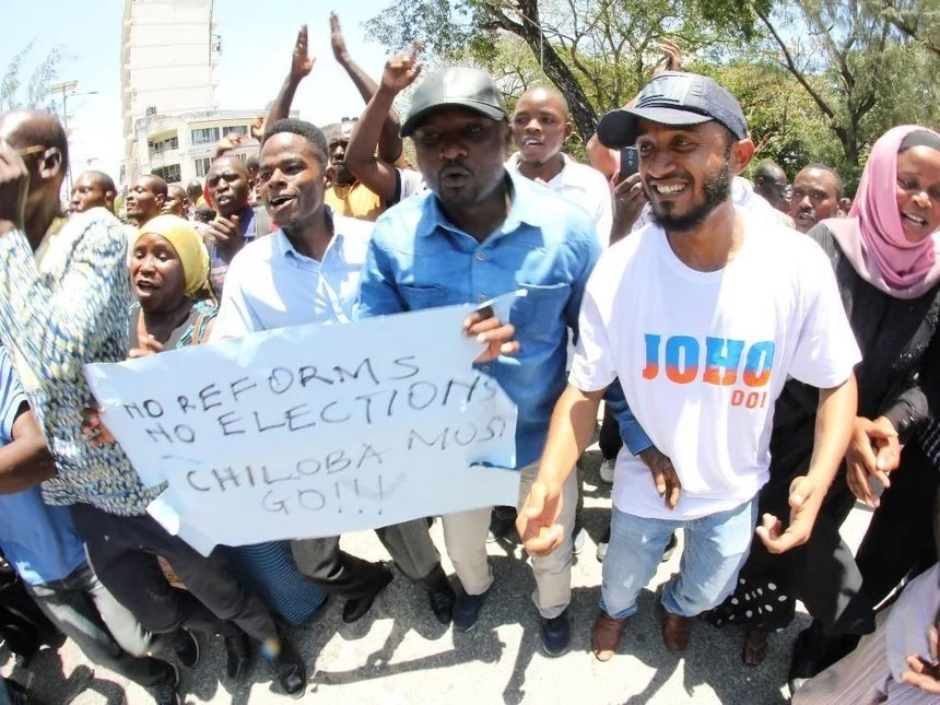 Opposition demands electoral reforms in Kenya