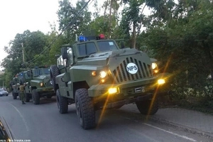 8 detailed photos of the high-grade military vehicles Uhuru launched ahead of 2017 elections