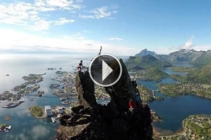 DAREDEVIL: 18-year-old boy risks his own life to do something absolutely shocking