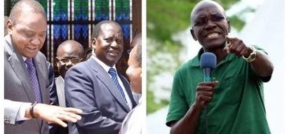 Boni Khalwale exposes secret talks between NASA and Jubilee during showdown with Miguna Miguna, details