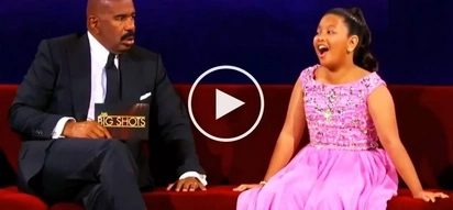 Watch this 12-year-old Pinay girl wow Steve Harvey with her epic singing voice!