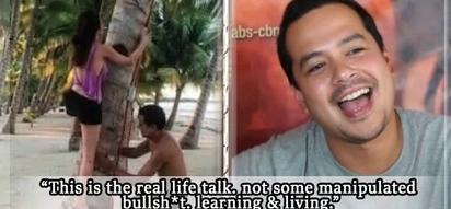 """John Lloyd Cruz says he chooses """"real life talk"""" over """"manipulated bullsh*t"""""""
