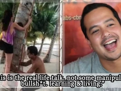 "John Lloyd Cruz says he chooses ""real life talk"" over ""manipulated bullsh*t"""