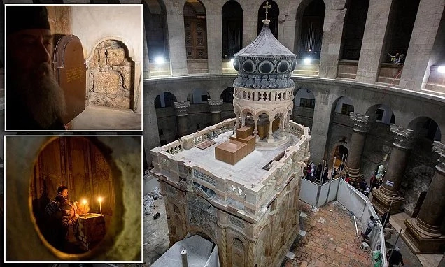 Tomb of Jesus finally restored: See where Christ was buried and then rose to heaven (photos, video)