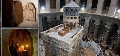 Tomb of Jesus finally RESTORED: See where Christ was buried and then rose to heaven (photos)