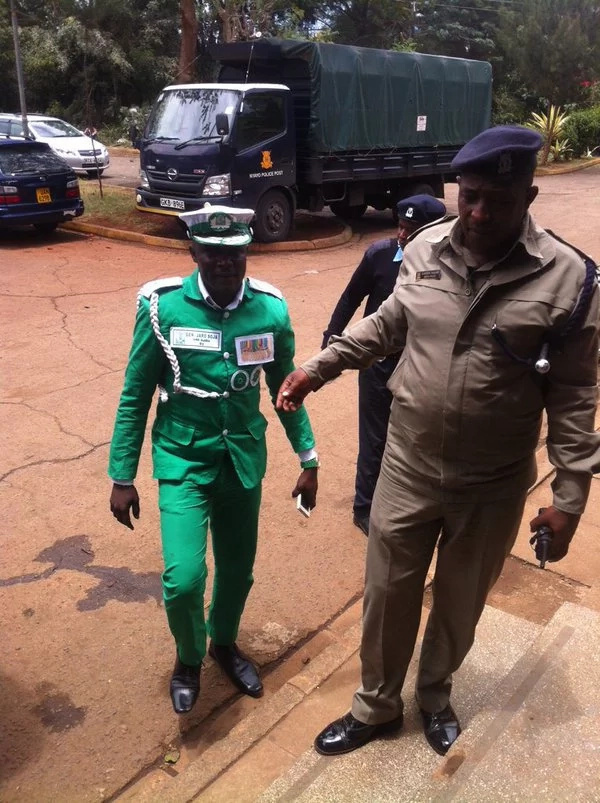 Jaro Soja questioned by police officers on assault allegations