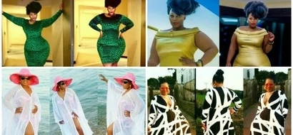 Gorgeous! This African designer celebrates women with CURVES (see photos)