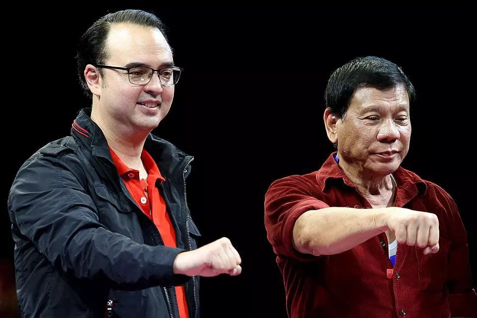 Cayetano blames De Lima, CHR for int'l outcry vs Duterte