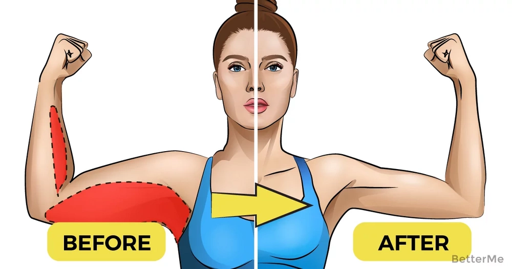 3 effective exercises to tone your arms without weights