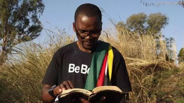 Pastor Mugadza prophesied that Robert Mugabe will die on October 17. Photo: BBC