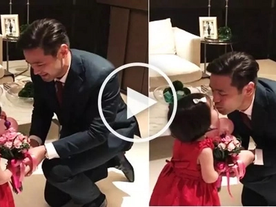 Sweet video of Hayden Kho's Valentine's Day date with daughter Scarlet Snow touches netizens
