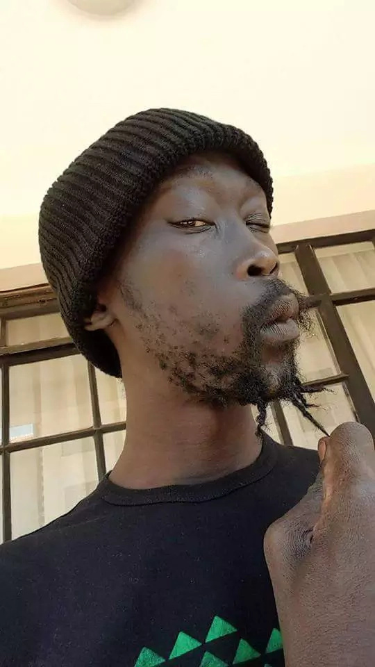 Hilarious photos of South Sudan's youthful minister