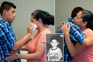 1-year-old boy is kidnapped. 21 years later, cops call Mom and tell her they found him (photos)