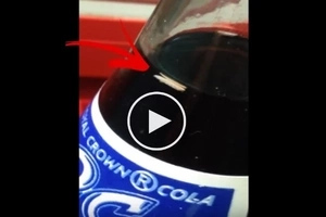 For All The Soda Drinkers Out There! Watch this Video And You Will Never Drink Bottled Soda The Same Way Again!
