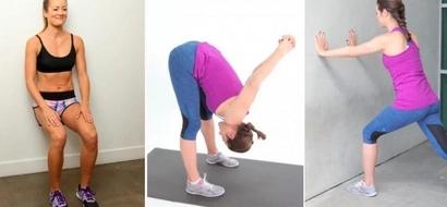Necesitas hacer estos 4 ejercicios para prevenir el dolor de rodilla