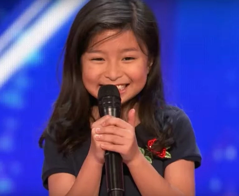 Talented girl stunned everyone with a Celine Dion performance. Her name is Celine too.