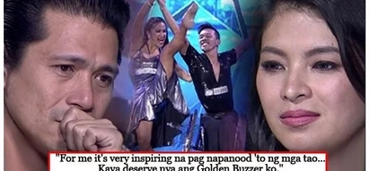 Nakaka-inspire sila! Dancesport Duo earns golden buzzer from Angel Locsin with their show-stopping performance