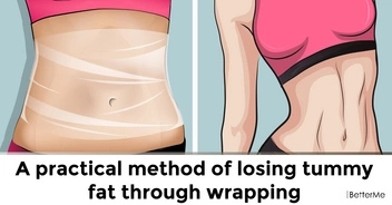 A practical method to get rid of belly fat through wrapping