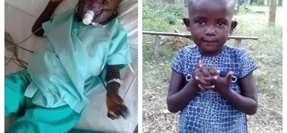 This little girl recovering from a severe heart condition needs your help
