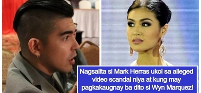"Mark Herras opens up about his alleged video scandal from 7 years ago: ""huwag na lang idamay si Wyn"""