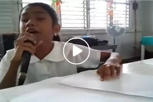 This blind Pinay girl singing 'Wrecking Ball' will give you goosebumps