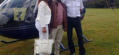 PHOTOS: Kenyan Woman Surprises Husband With KSh10 Million Car For Birthday