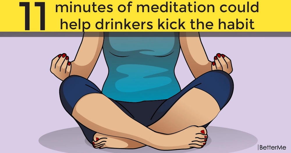 11 minutes of meditation could help drinkers kick the habit
