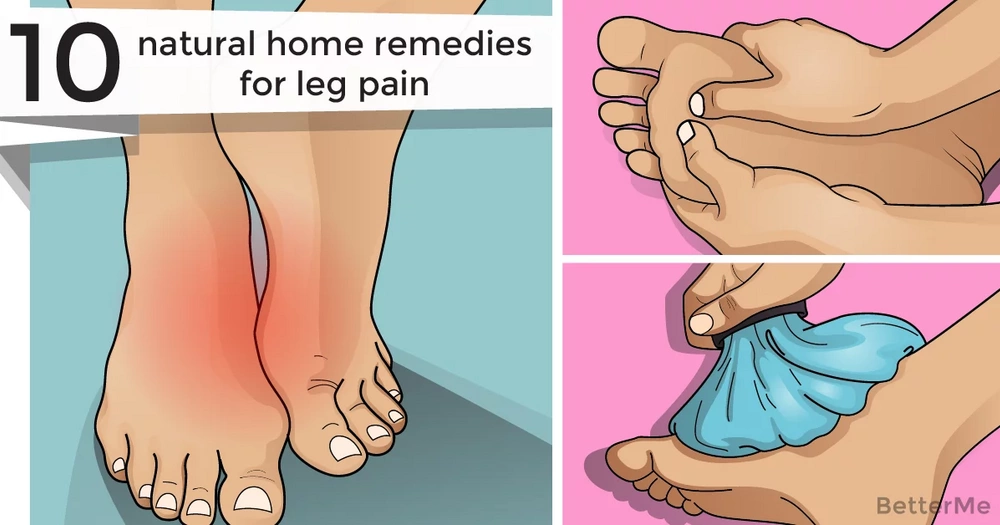 10 natural home remedies for leg pain
