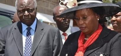 Mwai Kibaki's