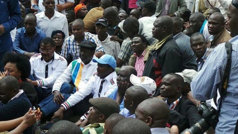 CORD leader Raila could be jailed over demos