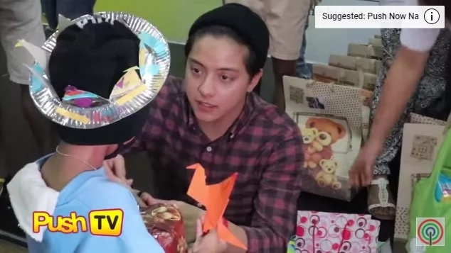 Daniel Padilla's feed day gives joy to many less fortunate children