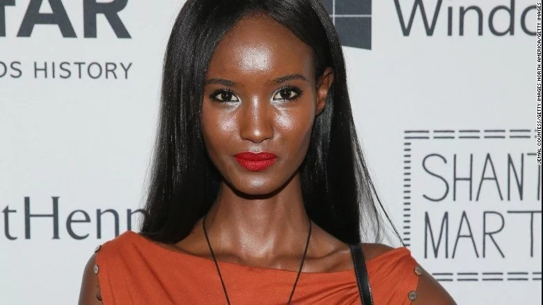 This gorgeous black model is creating new standards in the tough FASHION industry (photos)