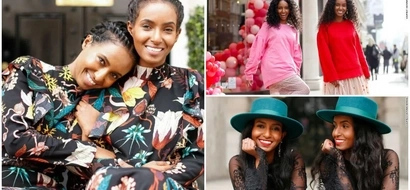 Adorable! See African twin sisters, 34, who use STYLE to break down barriers for deaf people (photos)