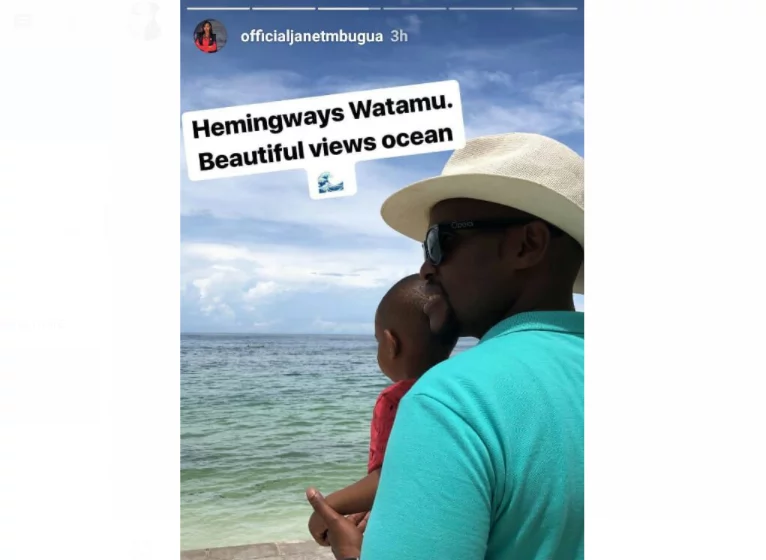 Heavily pregnant ex-citizen TV screen siren hit the Coast on luxury vocation with hubby and son