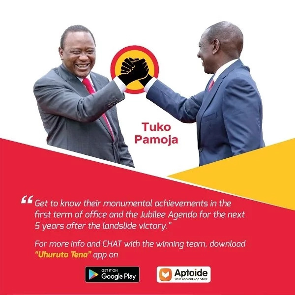 This New android app allows you to chat with Uhuru Kenyatta