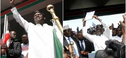 List of NASA governors and MPs who deserted Raila Odinga during his Swearing-in