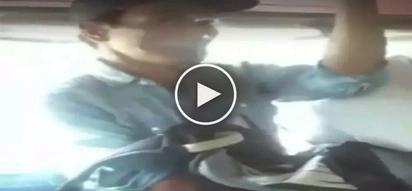 Huli sa akto! Elderly Pinoy thief in Cavite caught on video victimizing unsuspecting jeepney passenger