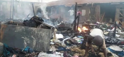 Fire Burns Twenty Houses In Kawangware